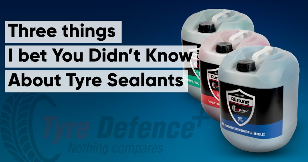things you don't know about tyre sealants