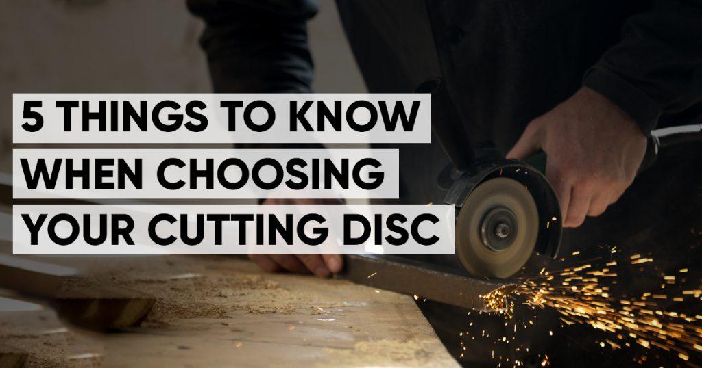 cutting disc buying guide